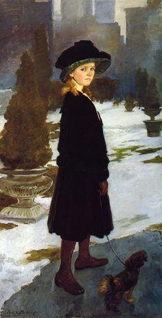 Alice Davison by Cecilia Beaux 1909-1910