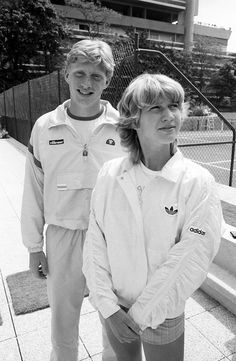 Boris Becker und Steffi Graf, Paris, Mai 1985 ©  J.H. Darchinger/courtesy Friedrich-Ebert-Stifung, Bonn