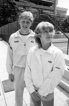 Boris Becker und Steffi Graf, Paris, Mai 1985|©  J.H. Darchinger/courtesy Friedrich-Ebert-Stifung, Bonn