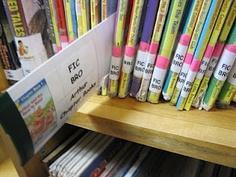 Cute Library Organization Shelf Divider Sign Set of 40 | Pinterest ...