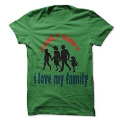 I Love T-Shirt For Family Happy T-Shirts