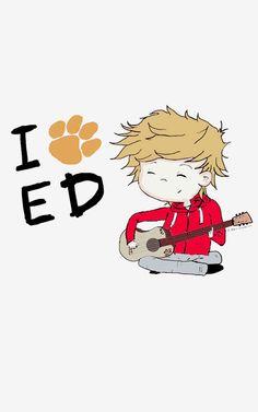 Imagen de ed sheeran, music, and cute