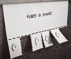 I'm going to print one like this and put it on my office desk. Everybody needs to smile a little bit more (me too!).