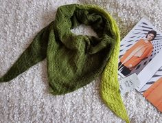 Modèle et laine Lang (merino/soie)