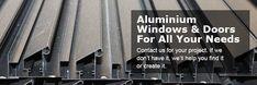 Wood and aluminium doors and windows Aluminium Windows And Doors, Wood, Woodwind Instrument, Timber Wood, Trees