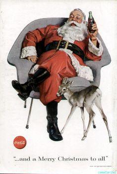 Coca-Cola Christmas ads | propagandas antigas | Comunicadores