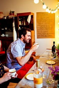 5 Tips for Throwing a Dinner Party in a Small Apartment via the kitchn. Fave tip: post the menu on the wall!