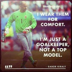 Let me present you the Hungarian goalkeeper