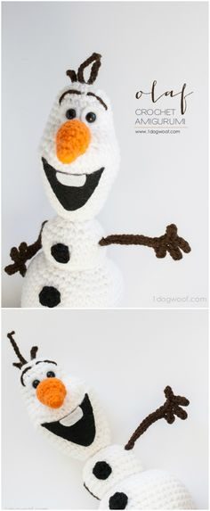 Here we have shared a grand list of free crochet amigurumi patterns that all makes perfect cuddly toys and can also be used as best lovey to your babies!Olaf Frozen Crochet Pattern