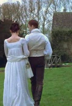 Mansfield Park - Frances O'Connor and Jonny Lee Miller as a beautiful Fanny and Edmund