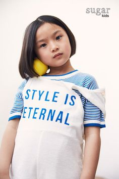 Yinxuan from Sugar Kids editorial for La Petite Magazine by Anouk Nitsche.