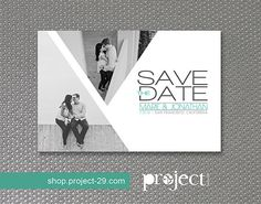 Wedding Save the Date Postcard // Multiple by projecttwenty9, $22.00  #savethedate #etsy