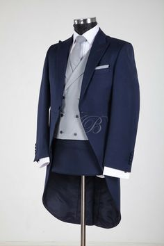 Slim Morning tail suit to hire from jack bunneys
