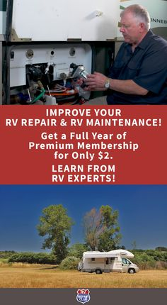 CONGRATS! You've been invited to become a Premium Member in the RV Repair Club. Get exclusive access to all of our best instructional RV how-to videos, expert tips & projects. Upgrade today and you'll get a WHOLE YEAR of access for only $2 (normally $65). House Cleaning Tips, Cleaning Hacks, Best Small Rv, Rv Clubs, Diy Rv, Rv Hacks, Big Rig Trucks, Rv Life, Clean House