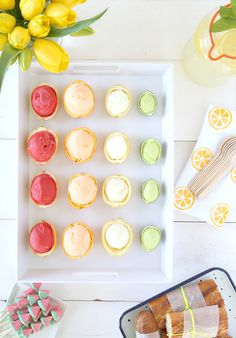 Citrus baby shower on Say Yes