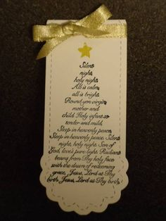 Christmas Bookmark by GunnysCathy - Cards and Paper Crafts at Splitcoaststampers