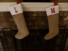 How to Make Burlap Stocking | ... Life: A Very Burlap Christmas or How to Make Stockings and Tree Skirts