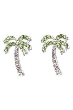 Palm Tree Earrings - colette