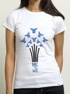Today's ‪#‎TBT‬ tee is the Me to We Doves tee!  DYK that doves are an icon of celebration, hope and peace?   Want this tee or any of our #TBT tees? They might just show up in your Grab Bag! Get yours today at www.metowestyle.com/category-s/344.htm! Grab Bags, Vintage Fashion, Throwback Thursday, Tees, Celebrities, Mens Tops, Peace, Style, Celebs