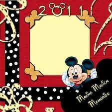 scrapbook layouts disney castle - Google Search - opening page?