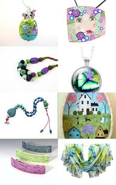 Colorful spring by Inga on Etsy--Pinned with TreasuryPin.com