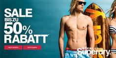 Bis zu 50% Rabatt bei Superdry #rabatt #superdry #sale #gutschein #gutscheinlike #coupon #aktion