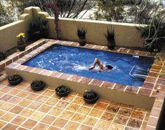 piscine hors sol deco carrelage
