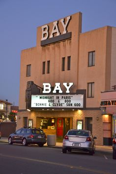 Bay Theater, Seal Beach, Los Angeles, CA saw Jaws here when it first came out