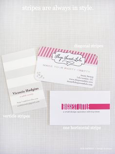 lots of gorgeous business card ideas