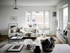 Neutral+living+room+inspired+by+scandinavian+interior+design.