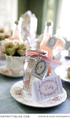 Tea Party {Bridal Shower Inspiration} | Bridal Shower | The Pretty Blog
