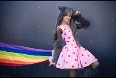 Nyan Cat: Nyanyanyanyan by *Ansuchi on deviantART; Costumes & Cosplay