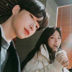 Read T H I R T Y T H R E E from the story - si fueras idol - by callwithnana (nana) with reads. k-idol, sm, jyp. Mode Ulzzang, Ulzzang Korea, Korean Ulzzang, Ulzzang Girl, Cute Couples Photos, Cute Couples Goals, Couple Pictures, Korean Best Friends, Boy And Girl Best Friends