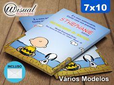 CSNP06 - Convite Snoopy 7x10cm