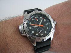 b63257b41fd Vintage Citizen Promaster Aqualand Ay5004-13w Diver 3740-e70014  nos   GittiGidiyor