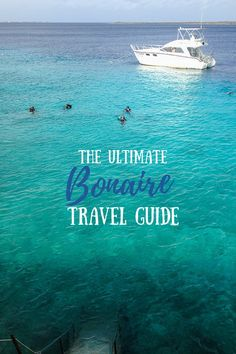 Bonaire is home to some of the best diving in the world, beautiful white sand beaches, and some famously friendly locals. Read our in-depth Bonaire travel guide with tips on where to stay, when to visit, what to pack and more! #bonaire #travelguides #caribbeantravel #adventuretravel