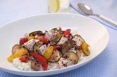 豆腐と夏野菜の赤しそ風味あんかけ丼 How To Boil Rice, Tofu, Potato Salad, Potatoes, Meat, Chicken, Ethnic Recipes, Potato, Cubs