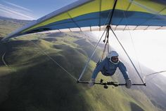 Did you know that 1 in 560 people die while hang gliding? True story.