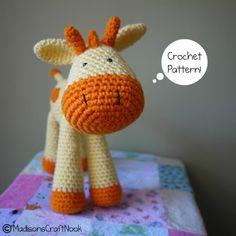 Grant the giraffe pattern on Craftsy.com $4.99