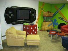 "Cosas que harán q todo friki diga ""Cállate y toma mi dinero - Taringa! Nerd Room, Gamer Room, Boy Room, Kids Room, Boys Game Room, Deco Gamer, Video Game Rooms, Video Games, Video Game Table"
