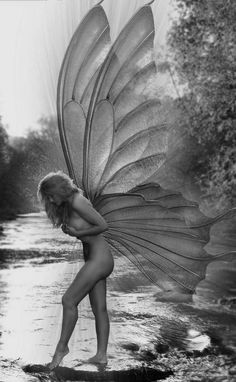 """We All have Ethereal Wings, but few have the courage to use them"" - Pepper Blair. °"