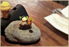 Edible rock? Yep, amongst other things at 'Tickets' restaurant in Barcelona by Ferran Adria.