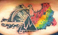 Pink Floyd Tattoo Dark Side Of The Moon Dark side of the moon tattoo.