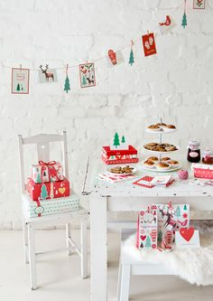 Christmas Table Styling 2012