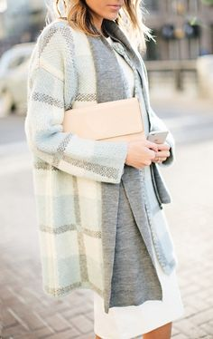 The hint of baby blue in this coat makes it a great fall staple to lighten up the wardrobe and helps to create the overall aesthetic of my board.