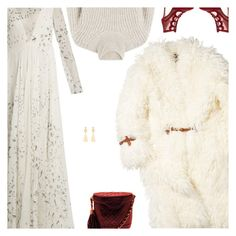 """""""Angelic Valentino"""" by amberelb ❤ liked on Polyvore featuring Valentino, J.W. Anderson, Marion Parke, Closed and Chanel"""