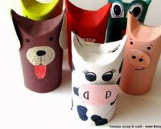Yo los hice… – chispis.com Animal Crafts For Kids, Diy Crafts For Kids, Arts And Crafts, Paper Towel Crafts, Toilet Paper Roll Crafts, Cardboard Crafts Kids, Diy Niños Manualidades, Toddler Sunday School, Water Bottle Crafts