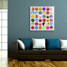 """""""Dots"""", Numbered Edition Acrylic Glass Print by Elisabeth Fredriksson - From $79.00 - Curioos"""
