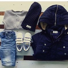 What a cool outfit!! Our new parka Lester jacket, Newark jeans & Noor beanie✔️ @agunaki78  #idigdenim#news#childrenfashion#lesterjacket#newark#noor#beanie#adidaskids