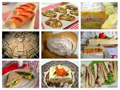 Platos rápidos con pan de molde